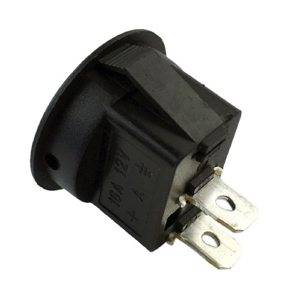12V 16A Round Rocker On/Off Switch